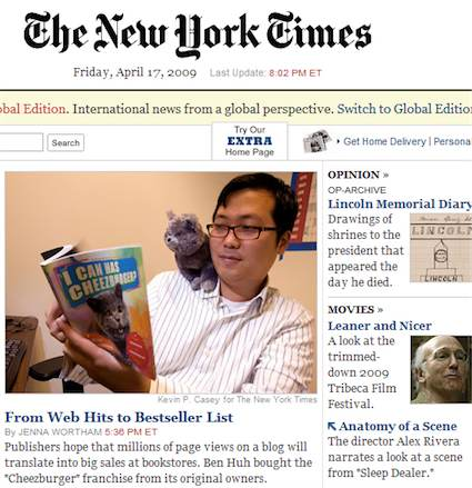 New York Times Frontpage
