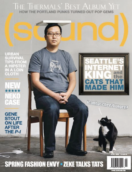 Ben Huh on Sound Magazine Cover, April 2009