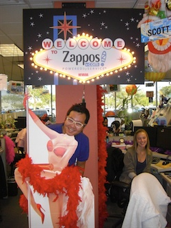 Ben Huh at the Zappos Tour